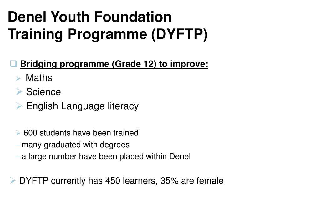 Denel Youth Foundation