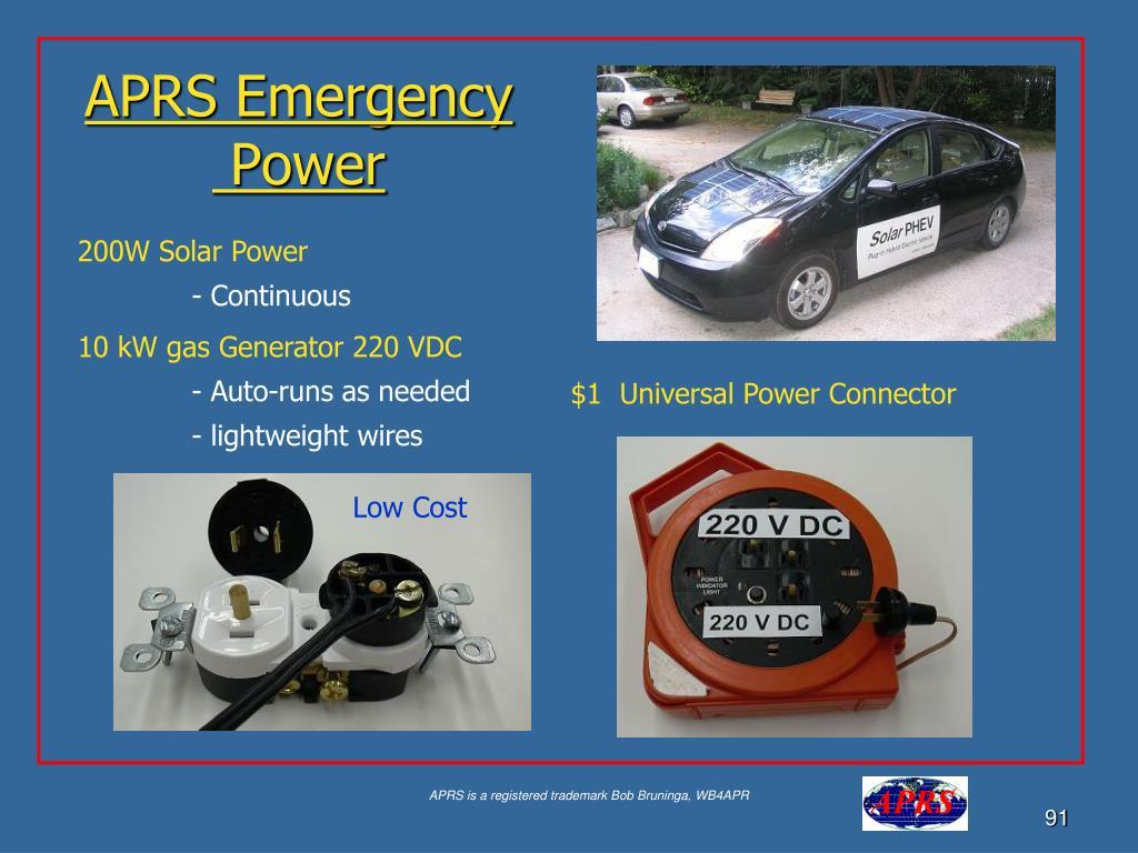 APRS Emergency