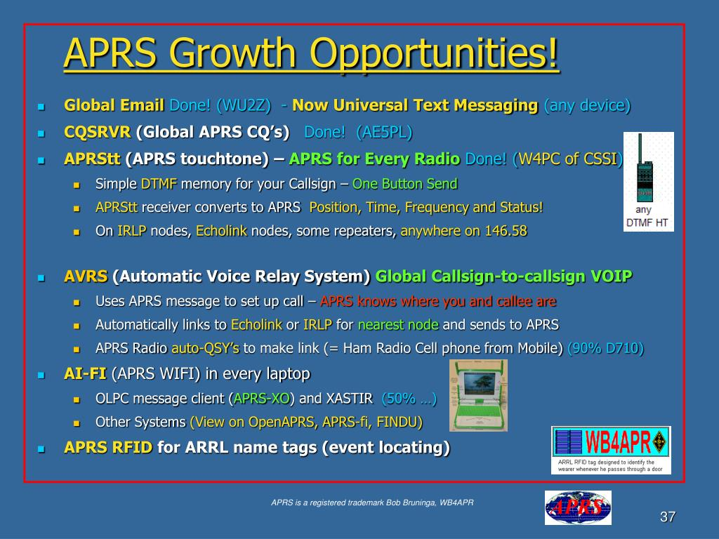 APRS Growth Opportunities!