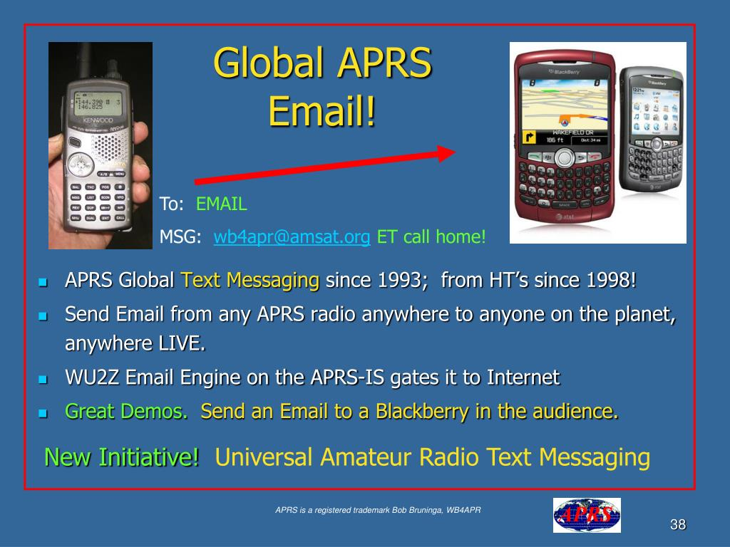 Global APRS Email!