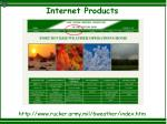 internet products