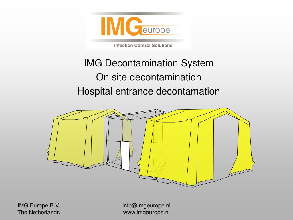 IMG Decontamination System