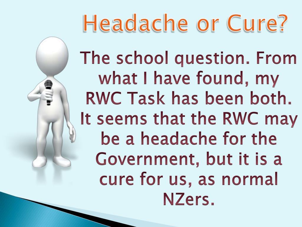 Headache or Cure?
