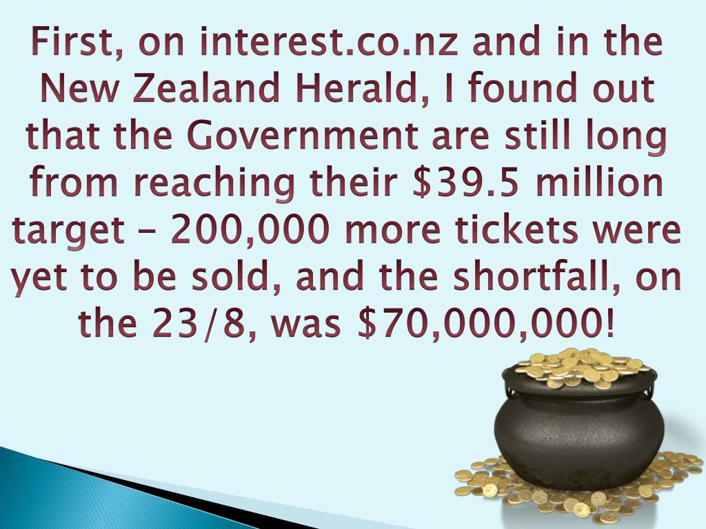 First, on interest.co.nz and in the