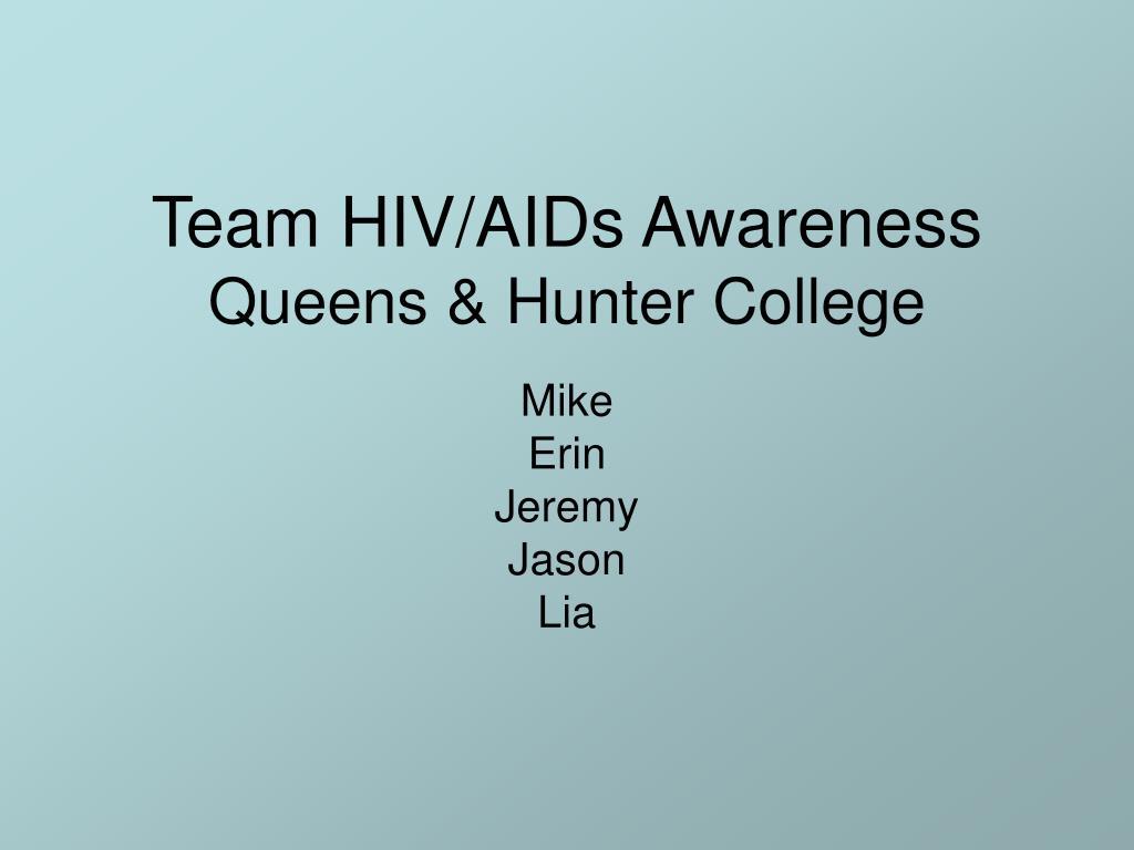 Team HIV/AIDs Awareness