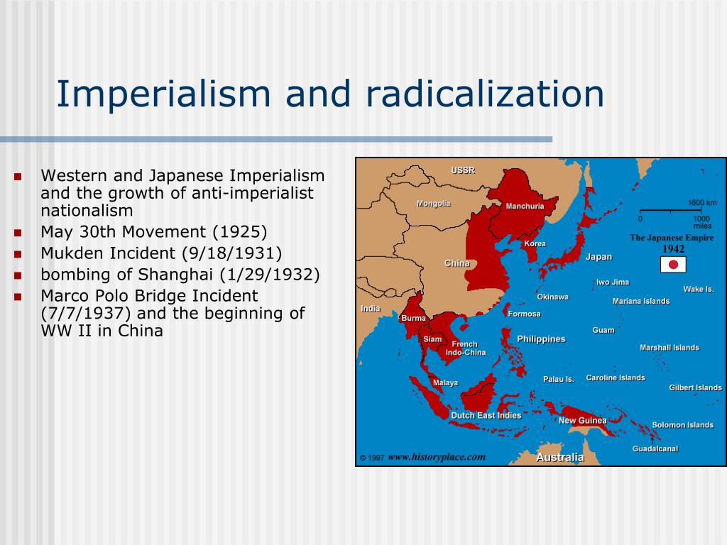 Imperialism and radicalization