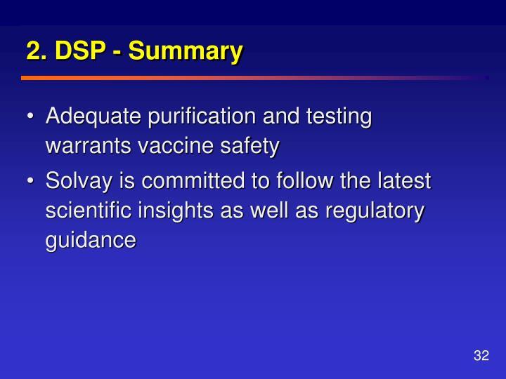 2. DSP - Summary