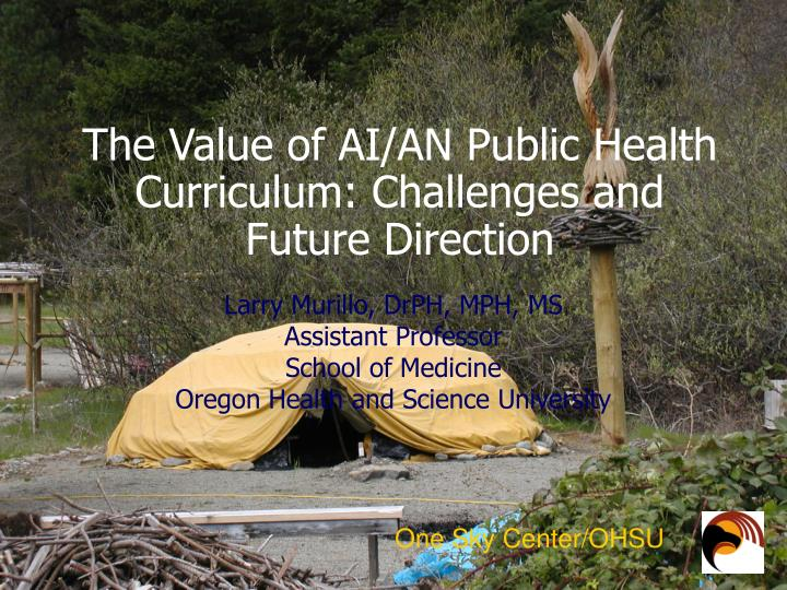 The value of ai an public health curriculum challenges and future direction