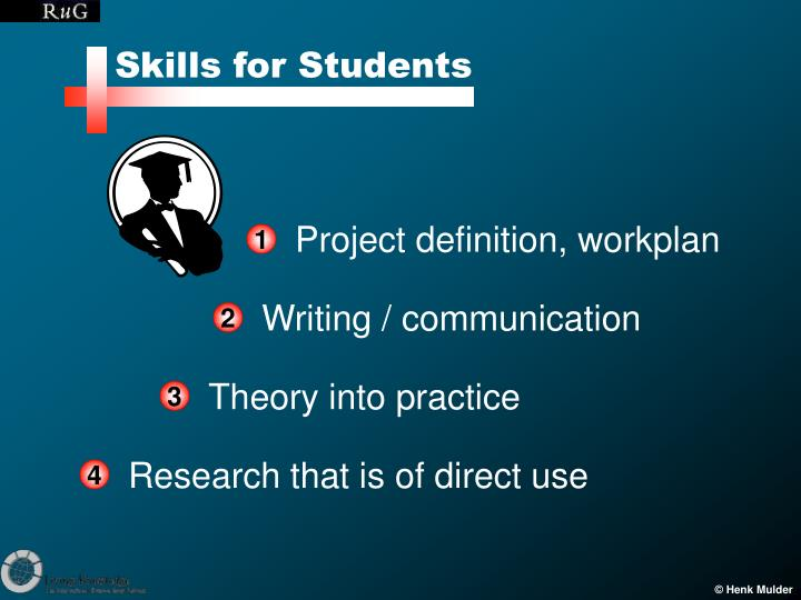 Skills for Students