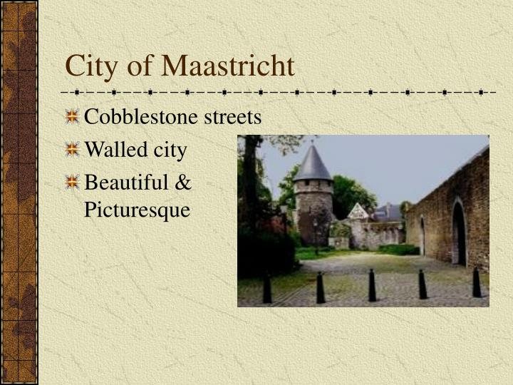 City of Maastricht