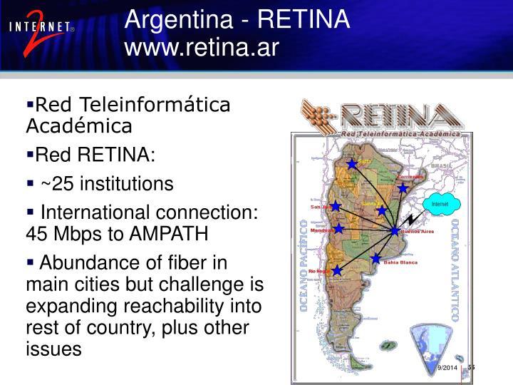 Argentina - RETINA