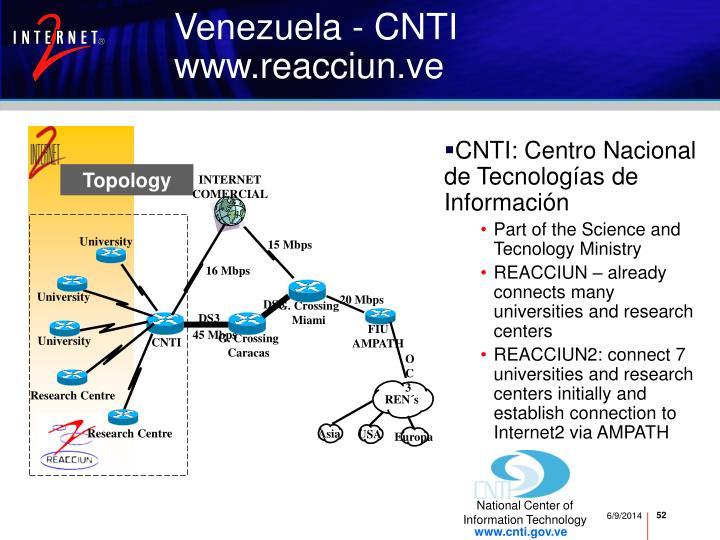 CNTI: Centro Nacional de Tecnolog