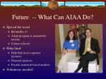 future what can aiaa do