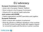 eu advocacy
