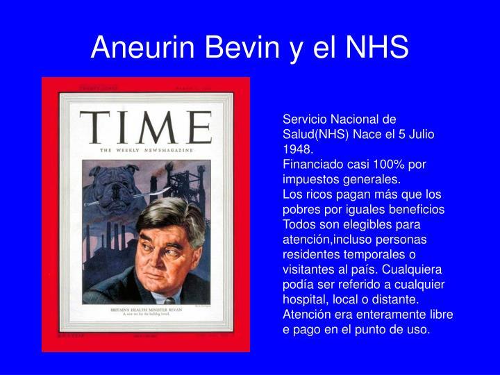 Aneurin Bevin y el NHS