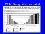 chile desigualdad en salud