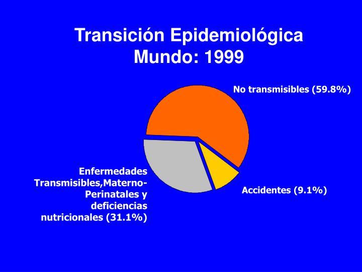 Transición Epidemiológica Mundo: 1999
