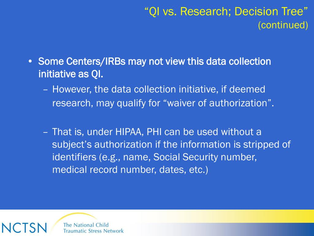 """QI vs. Research; Decision Tree"""