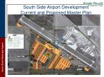 south side airport development current and proposed master plan