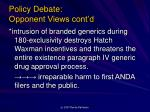 policy debate opponent views cont d3
