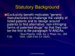 statutory background2
