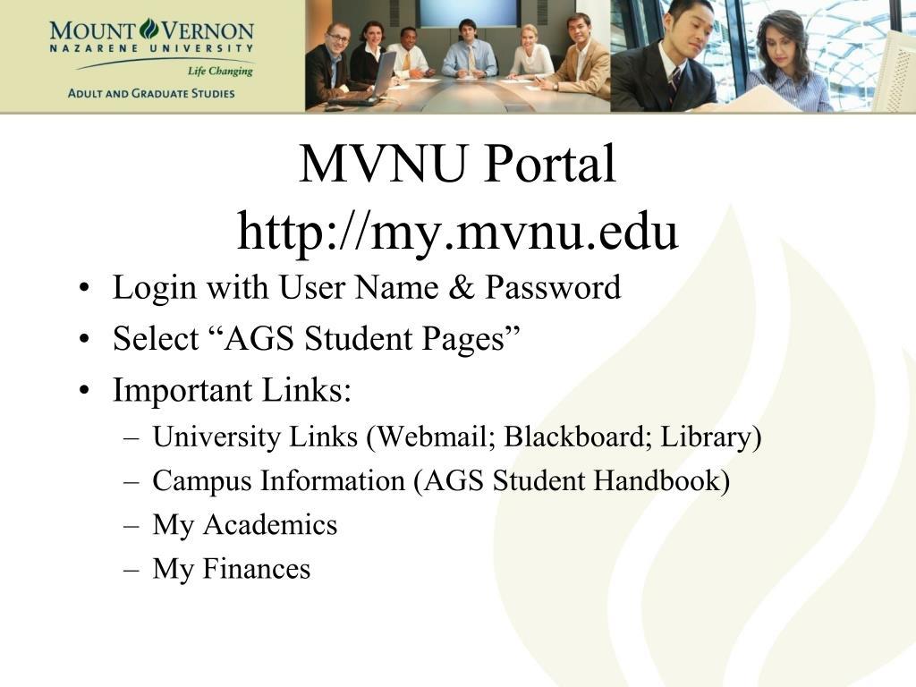 MVNU Portal