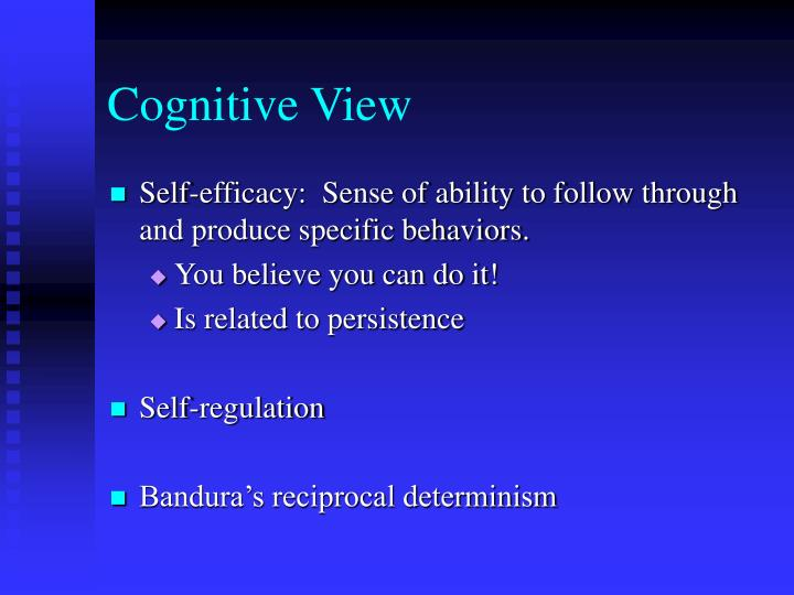 Cognitive View