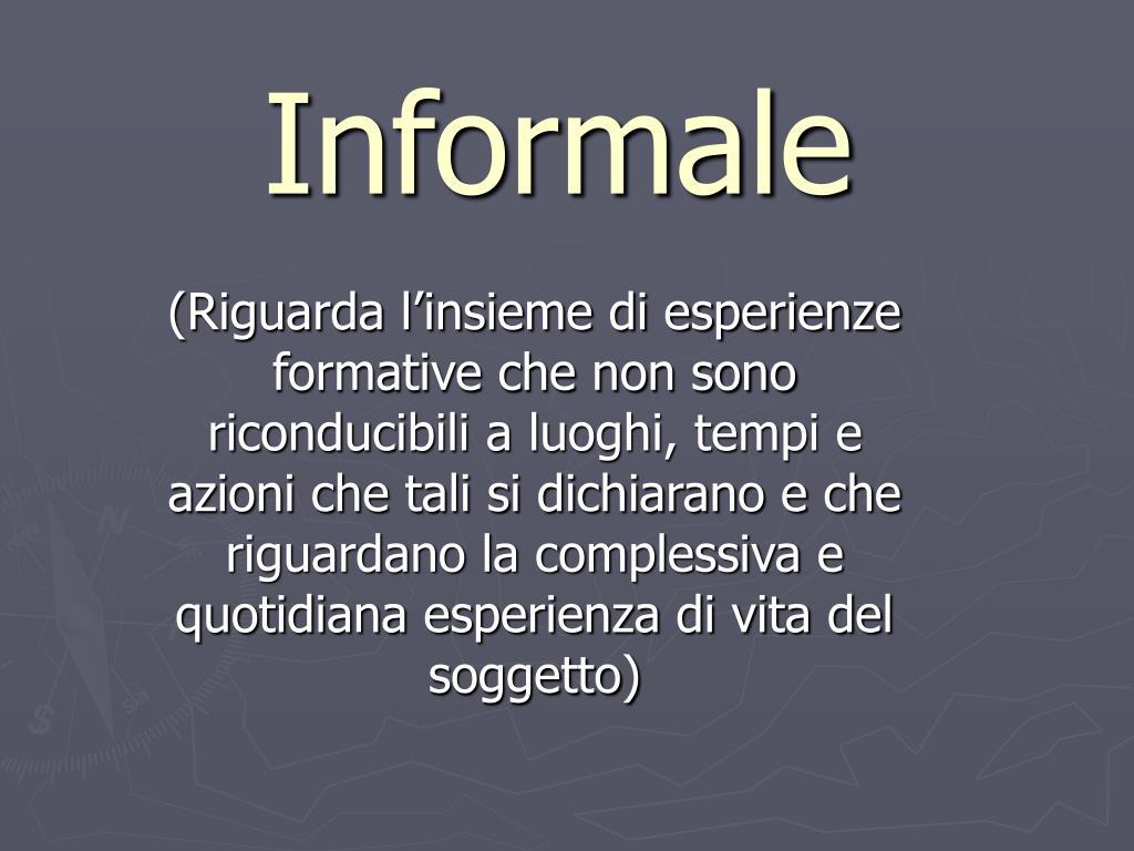 Informale