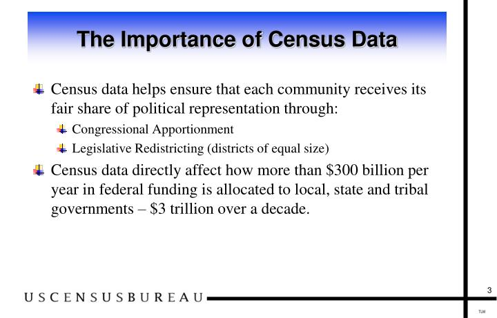 The importance of census data