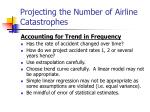 projecting the number of airline catastrophes17