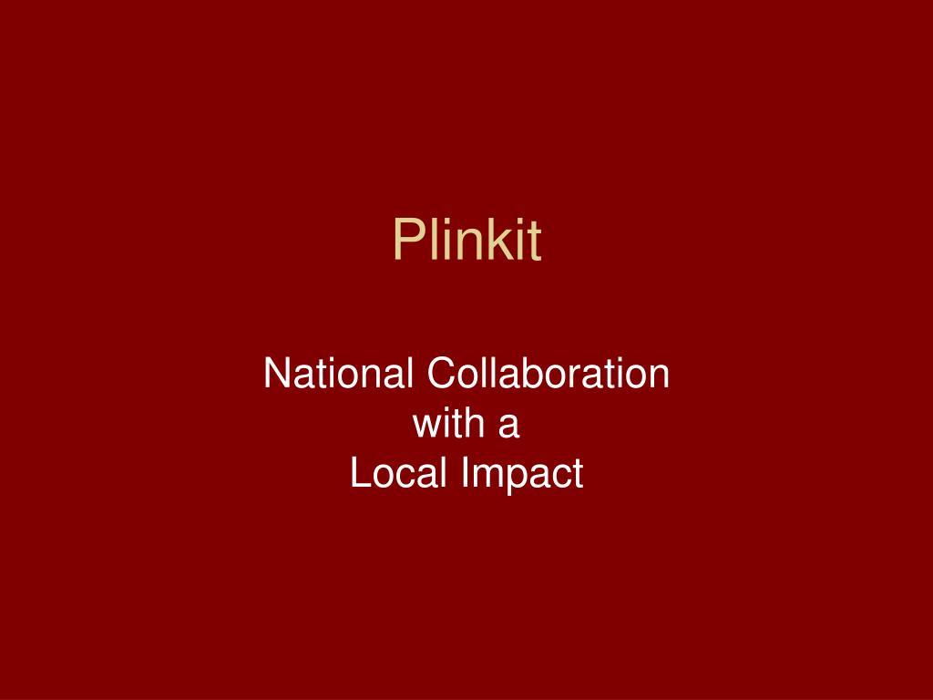 Plinkit