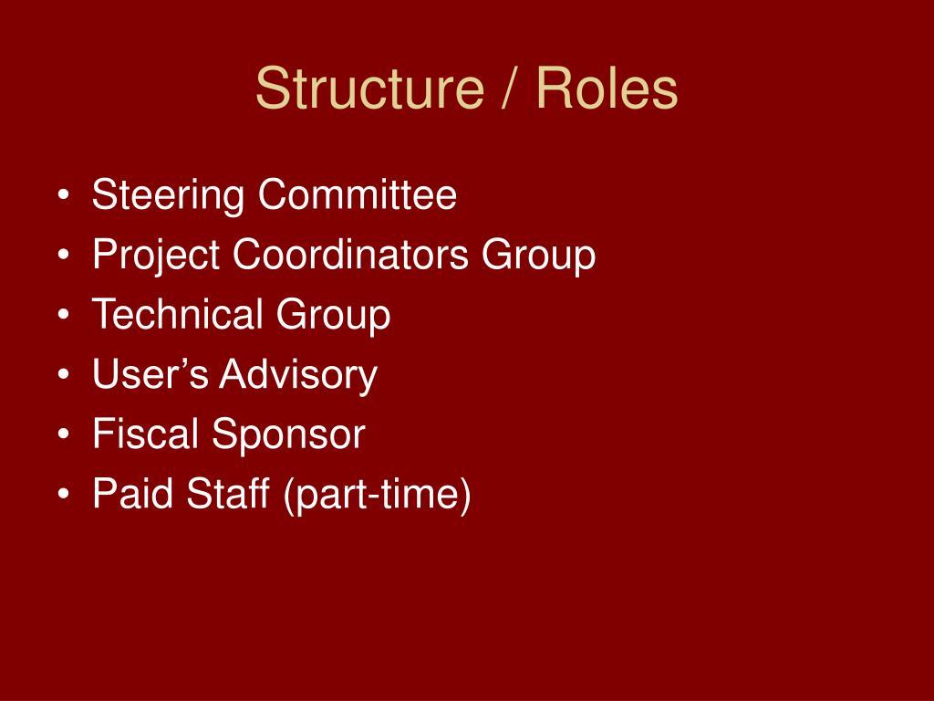 Structure / Roles