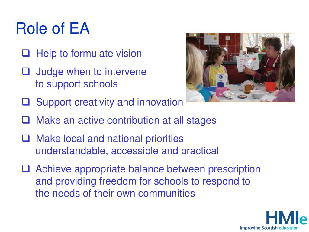 Role of EA