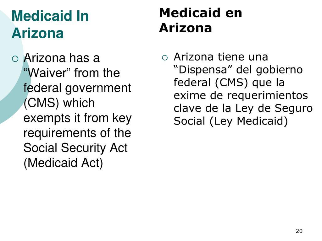 Medicaid In Arizona