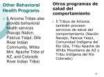 other behavioral health programs28