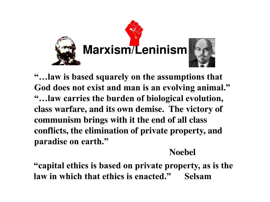 Marxism/Leninism