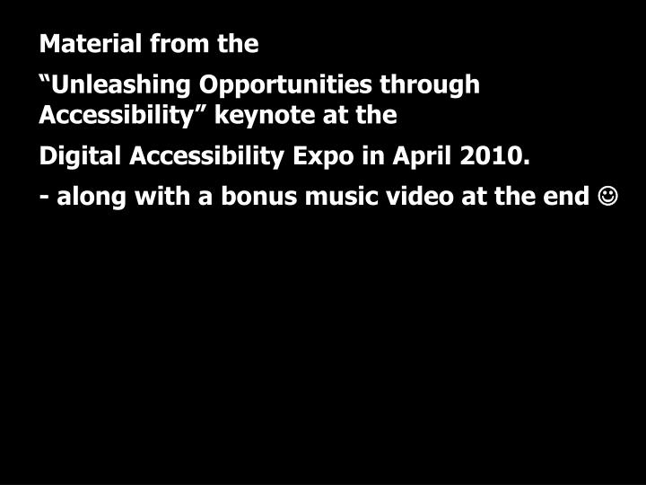 Uic digital accessibility expo