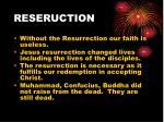 reseruction