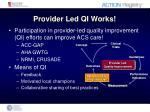 provider led qi works