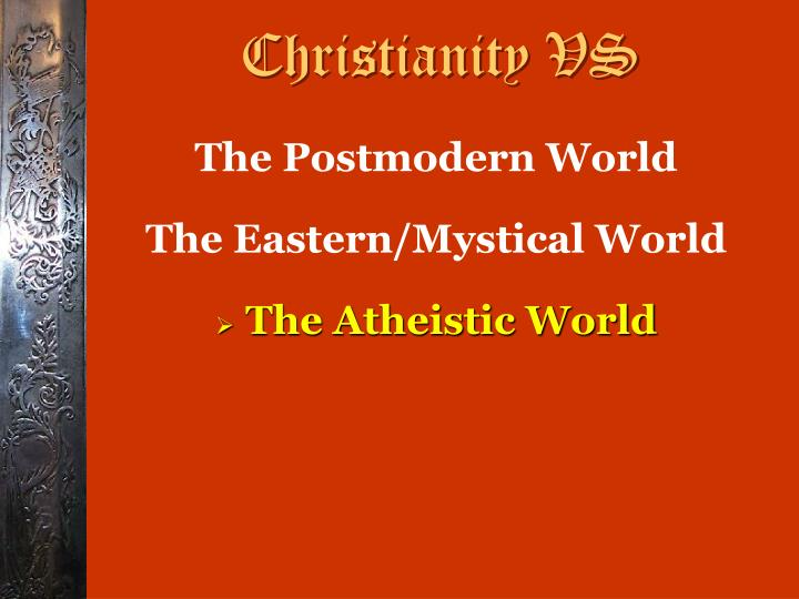 Christianity VS