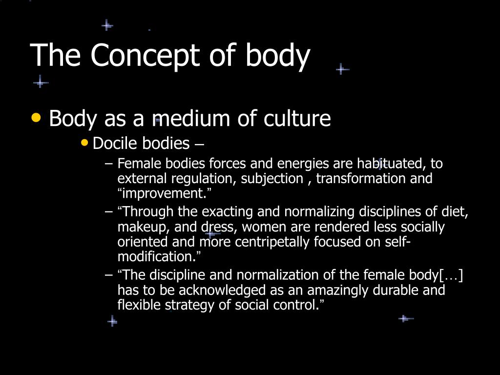The Concept of body