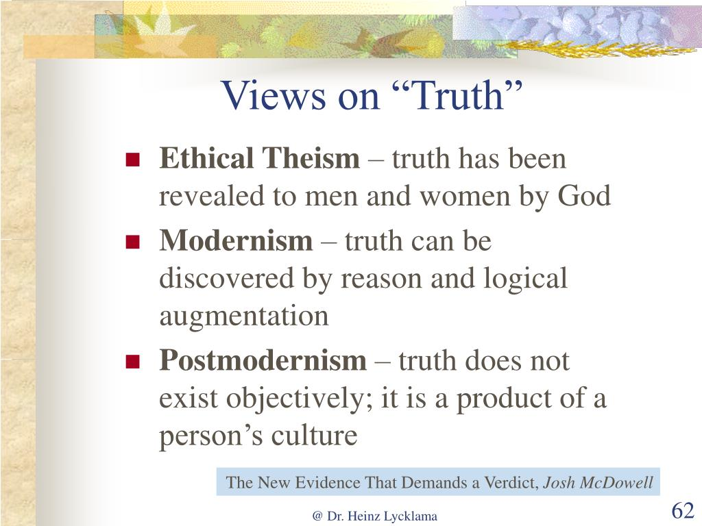 """Views on """"Truth"""""""