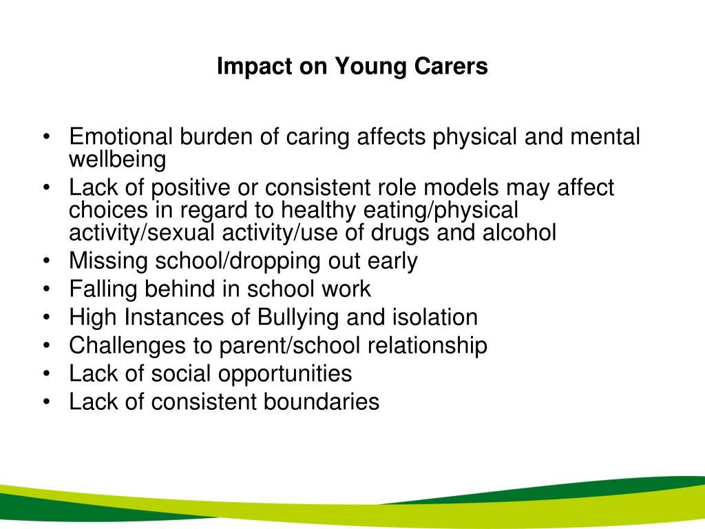 Impact on Young Carers