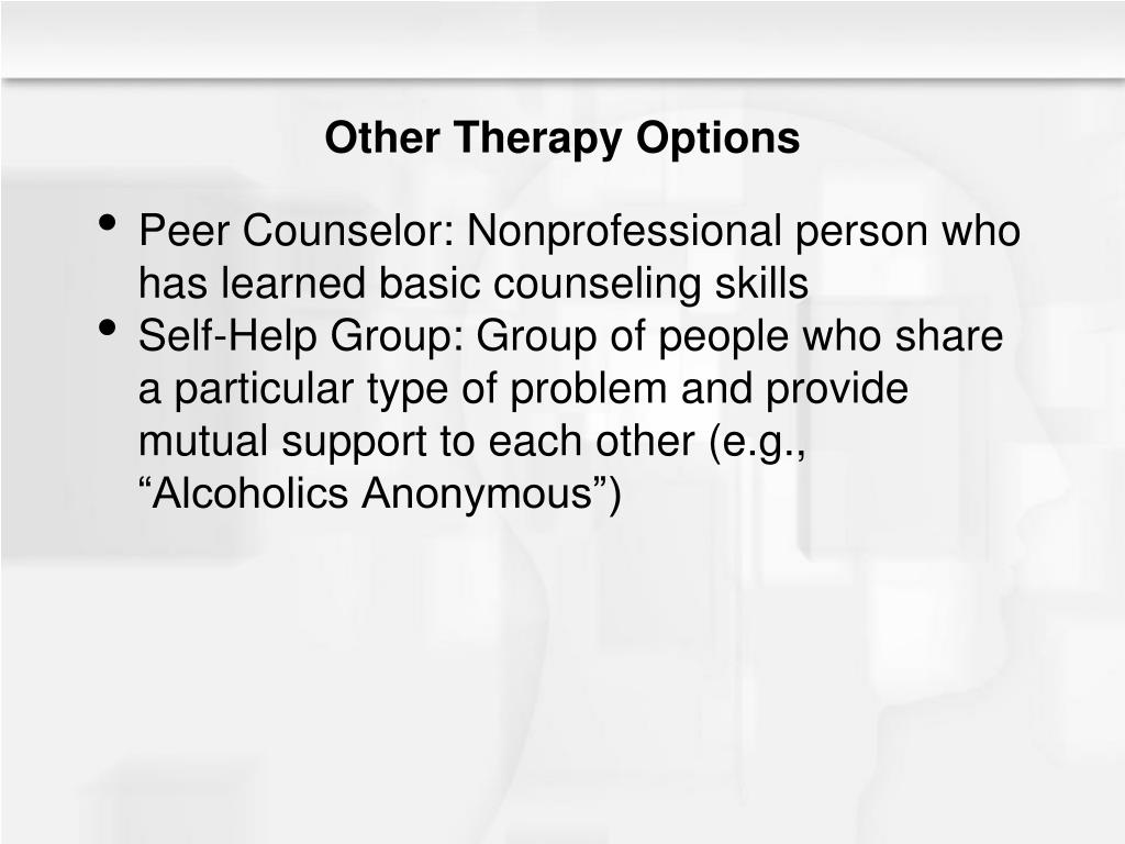 Other Therapy Options