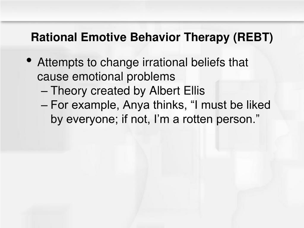 Rational Emotive Behavior Therapy (REBT)