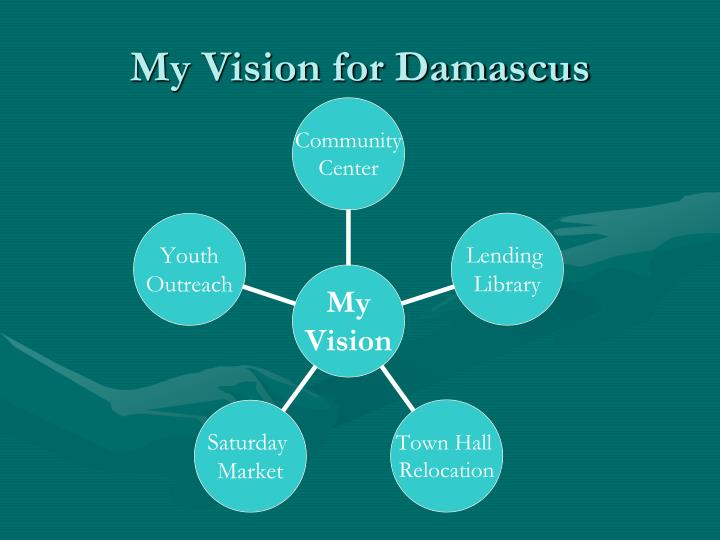 My vision for damascus
