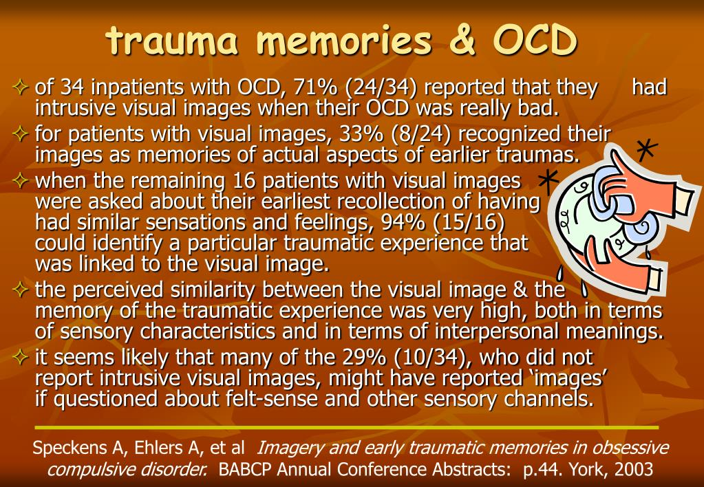 trauma memories & OCD