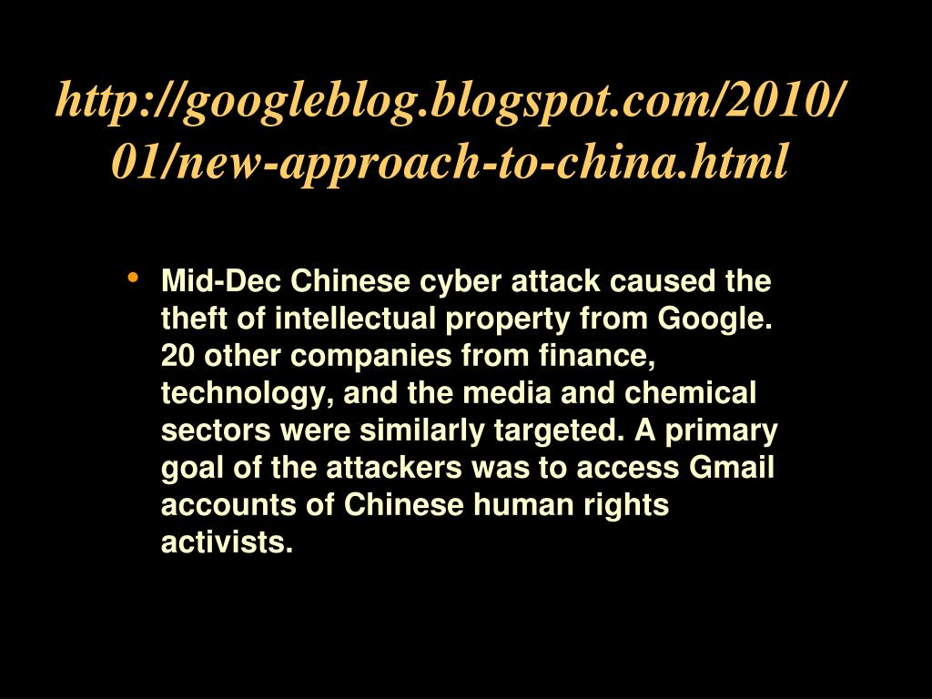 http://googleblog.blogspot.com/2010/01/new-approach-to-china.html