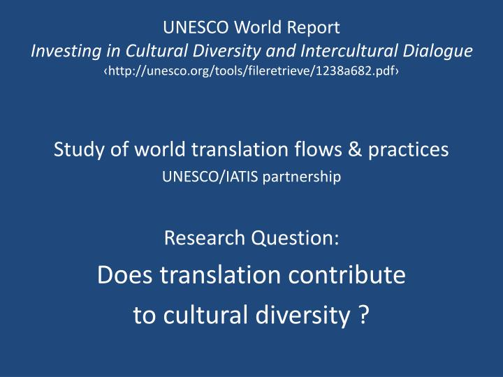 UNESCO World Report