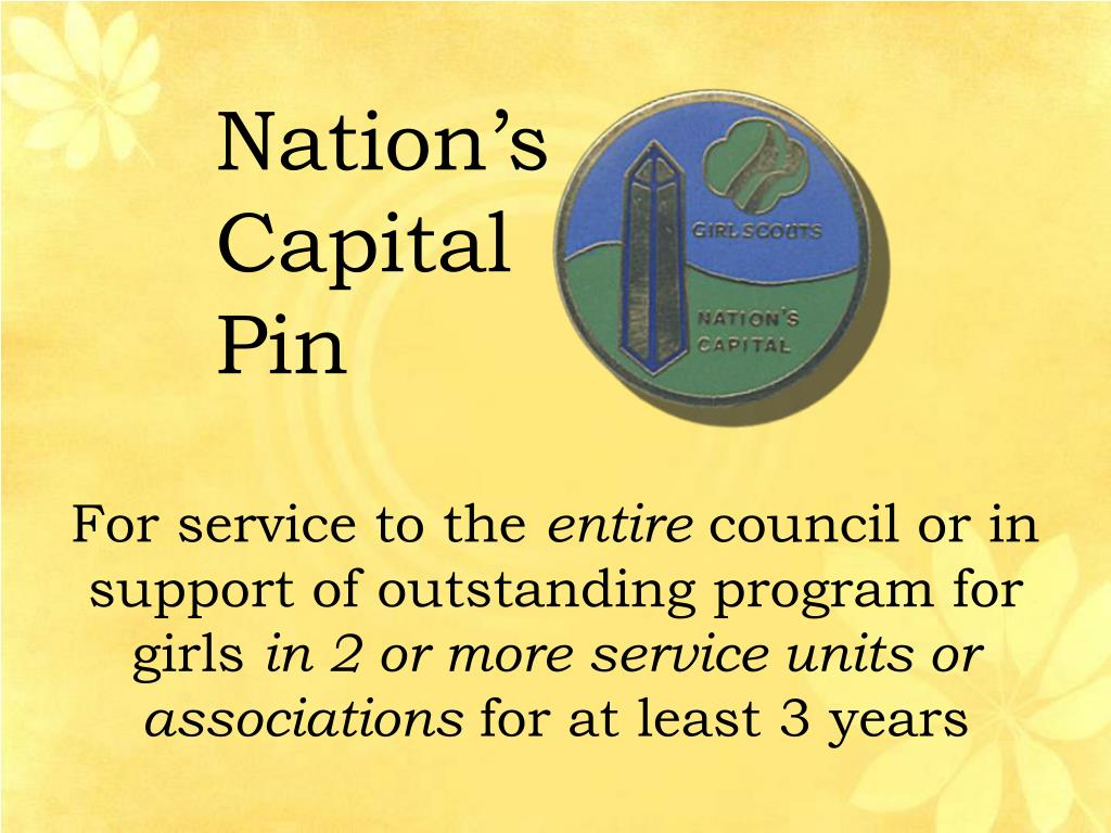 Nation's Capital Pin